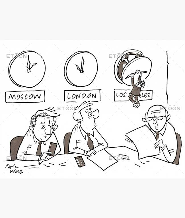 Harold Lloyd Inspired Meeting » Etoon Cartoon Services