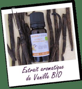 H.E extrait de vanille bio