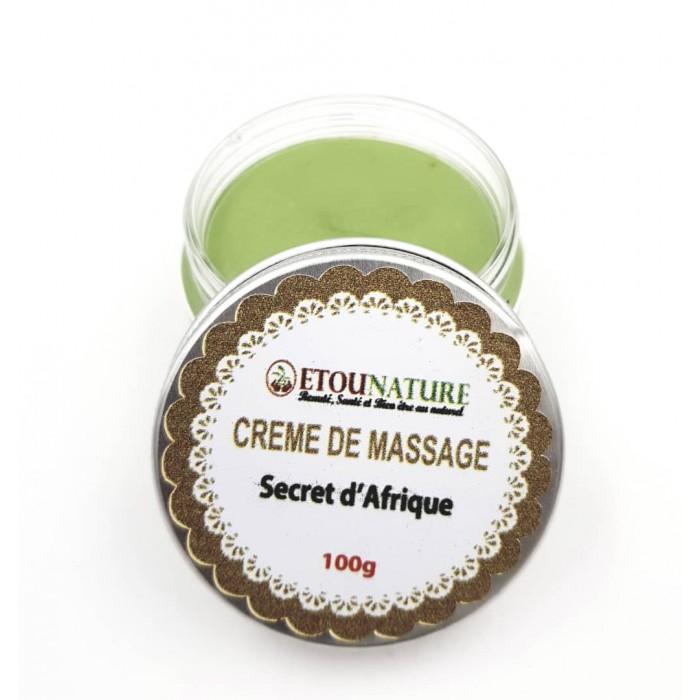 créme de massage