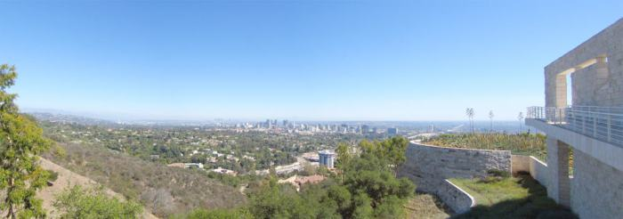 Los Angeles 2013 - Getty Center ©Etpourtantelletourne.fr