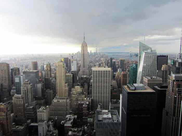 Top 5 New York : Top of the Rock ©Etpourtantelletourne.fr