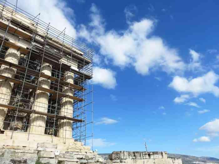 Athenes, l'Acropole, le Parthénon 2015 ©Etpourtantelletourne.fr