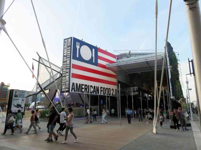 Expo Milano 2015, Pavillon Etats-Unis ©Etpourtantelletourne.fr
