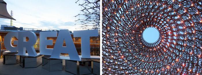 Expo Milano 2015, Pavillon Royaume-Uni ©Etpourtantelletourne.fr