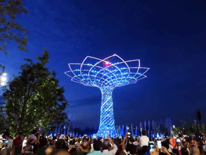 Expo Milano 2015, The Tree of Life ©Etpourtantelletourne.fr