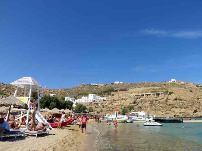 Mykonos, plage de super paradise 2015 ©Etpourtantelletourne.fr