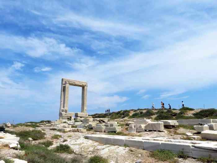Naxos, Chora, Temple d'Apollon 2015 ©Etpourtantelletourne.fr