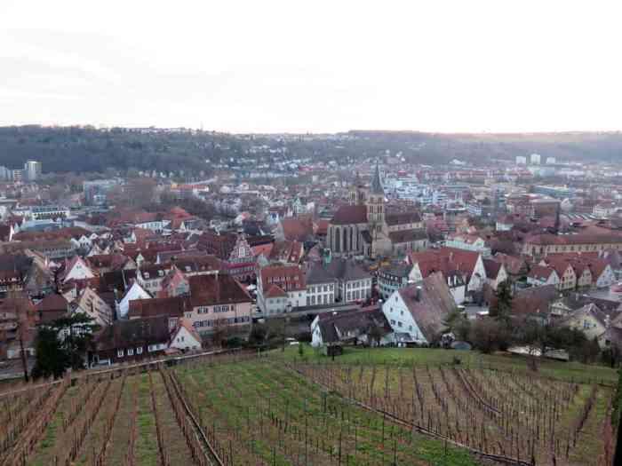 vue du chateau d'Esslingen ©Etpourtantelletourne.fr