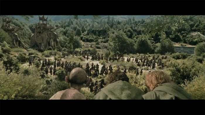 """© copie d'écran tirée du film """"Le Seigneur des anneaux : Les deux tours"""" de Peter Jackson / New Line Cinema"""