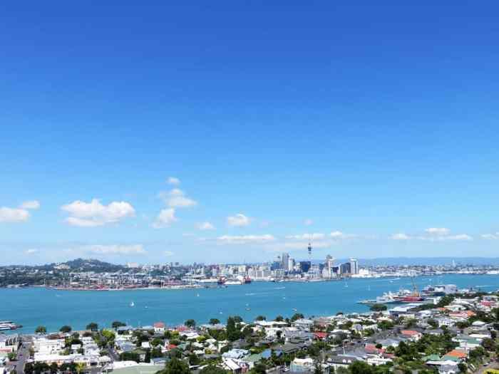 Vue sur Auckland - Devonport - 2016 ©Etpourtantelletourne.fr