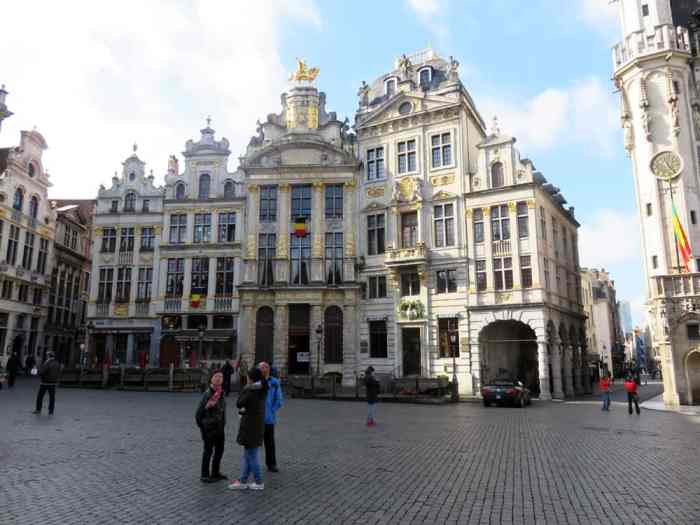 Bruxelles Grand Place 2016 ©Etpourtantelletourne.fr