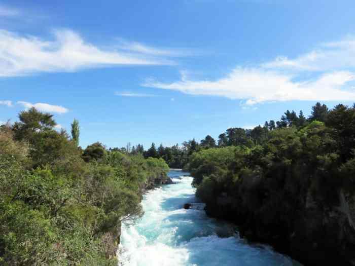 Huka Falls Nouvelle-Zélande 2016 ©Etpourtantelletourne.fr