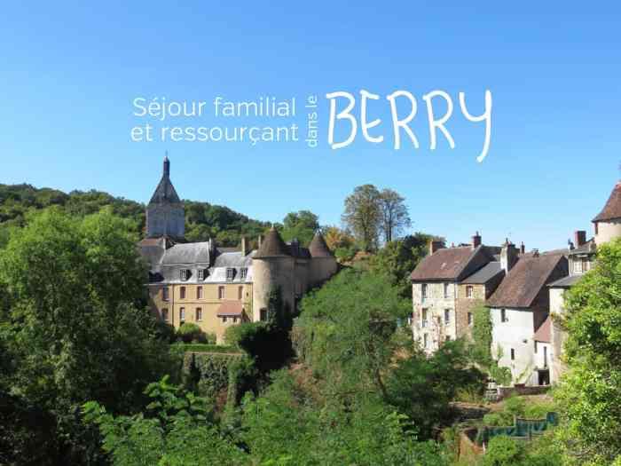 Séjour en famille dans le Berry ©Etpourtantelletourne.fr