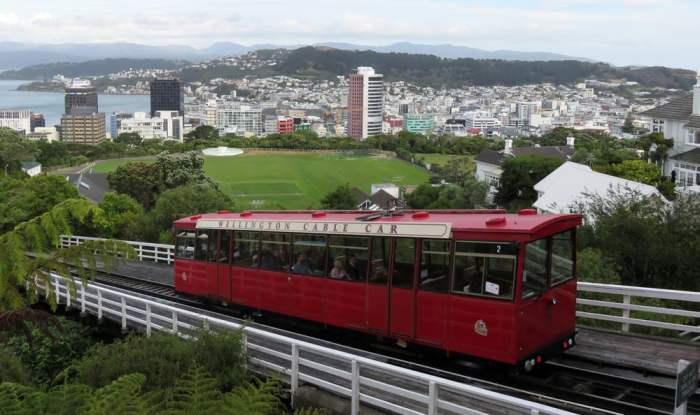 Nouvelle Zélande Wellington - Cable car 2016 ©Etpourtantelletourne.fr