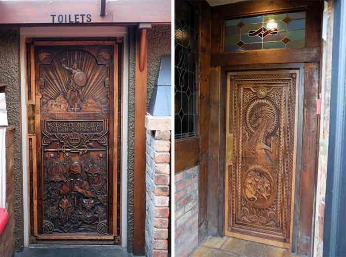 Itinéraire sur les lieux de tournage de Game of Thrones en Irlande du Nord - Doors of thrones ©Etpourtantelletourne.fr