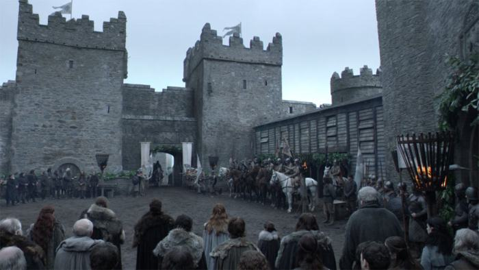 Itinéraire sur les lieux de tournage de Game of Thrones en Irlande du Nord - Castle Ward - Winterfell ©HBO