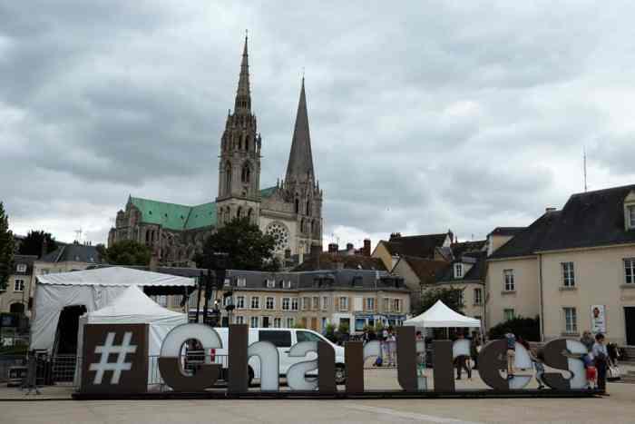 Chartres cathédrale 2017 ©Etpourtantelletourne.fr