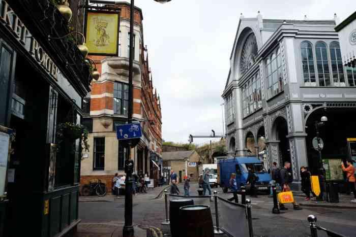 Lieux de tournage Harry Potter à Londres Le marché de Borough market ©Etpourtantelletourne.fr