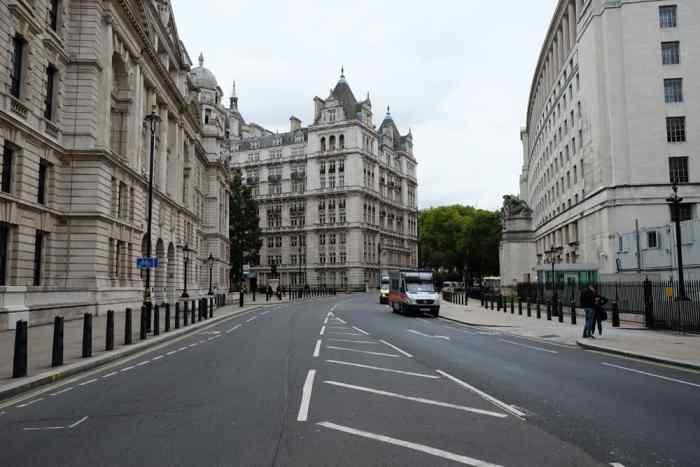 Lieux de tournage Harry Potter à Londres Horse Guard Avenue ©Etpourtantelletourne.fr
