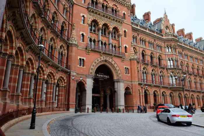Lieux de tournage Harry Potter à Londres La gare Saint-Pancras ©Etpourtantelletourne.fr