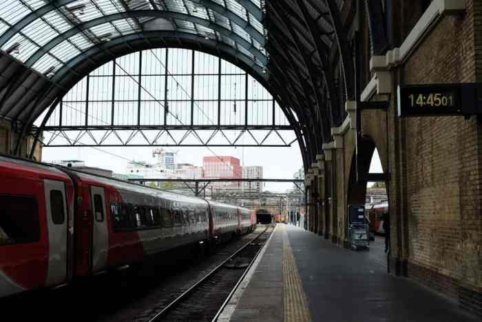 Lieux de tournage Harry Potter à Londres La gare de King's Cross ©Etpourtantelletourne.fr
