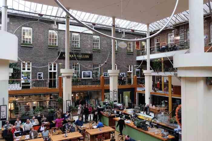 Où manger à Dublin Powerscourt ©Etpourtantelletourne.fr