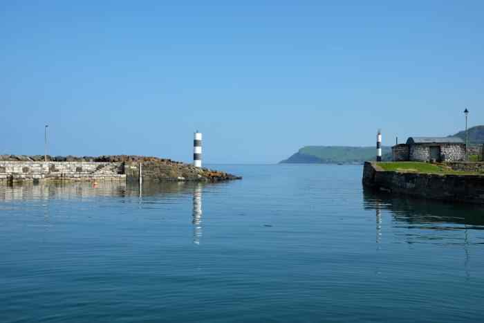 Causeway Coastal Route port de Carnoulgh ©Etpourtantelletourne.fr