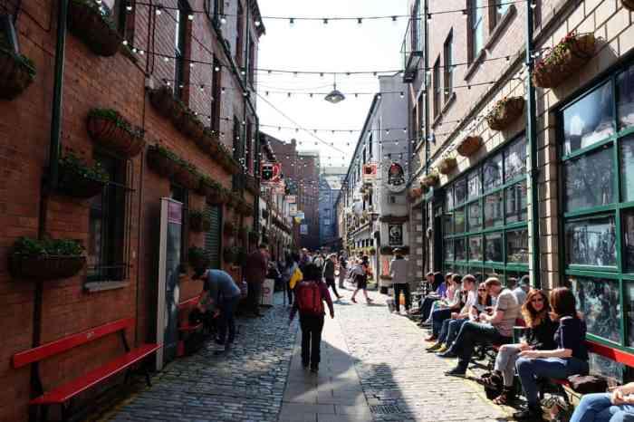 Belfast ruelles ©Etpourtantelletourne.fr