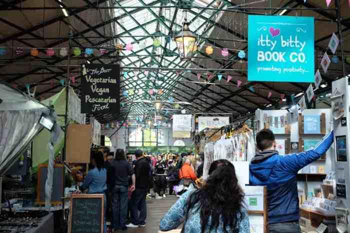 Belfast Saint-George's Market ©Etpourtantelletourne.fr