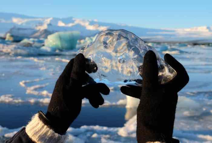 Islande en hiver Jökulsárlón ©Etpourtantelletourne.fr