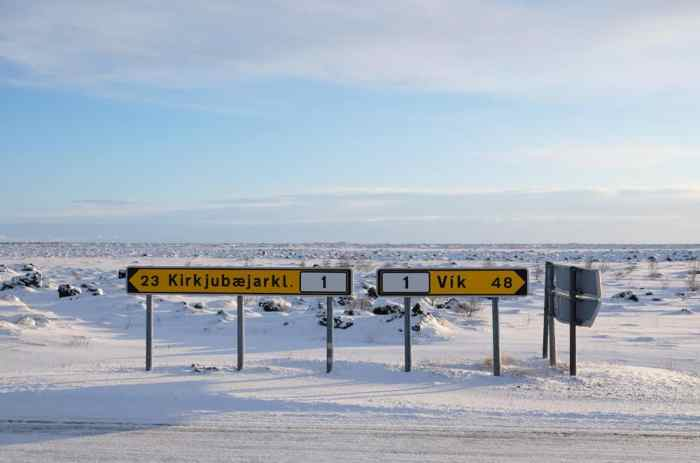 Islande en hiver road trip conseils ©Etpourtantelletourne.fr