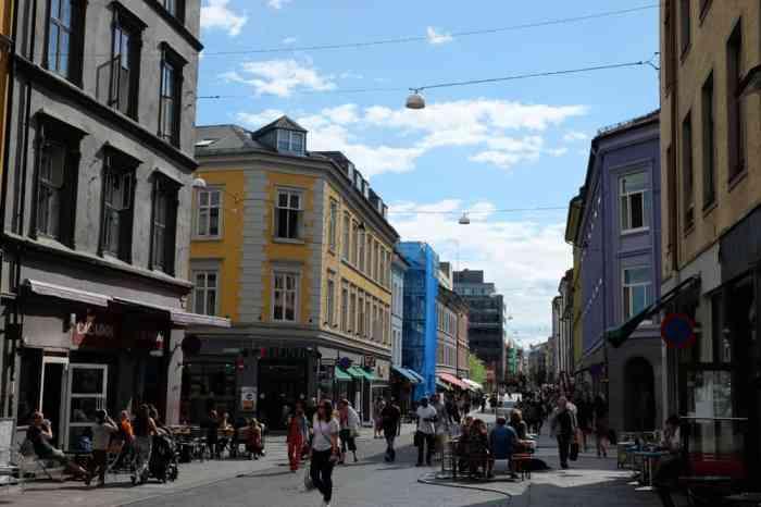 Balade dans le centre-ville d'Oslo ©Etpourtantelletourne.fr