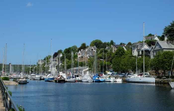 Visite de Morlaix le port ©Etpourtantelletourne.fr