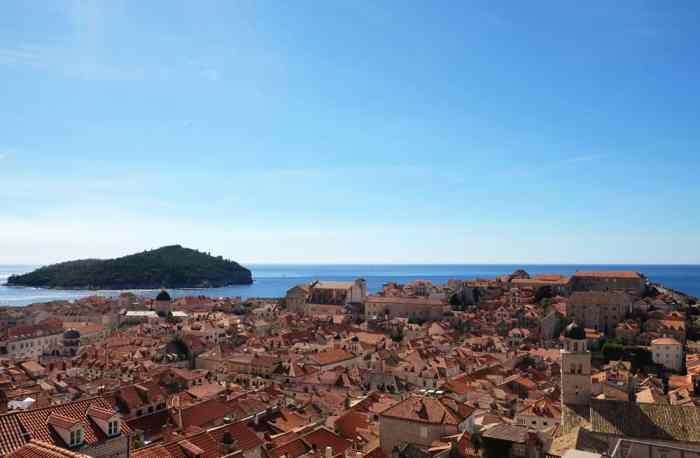 Itinéraire sur les lieux de tournage de Game of Thrones en Croatie - Dubrovnik - Port Réal ©Etpourtantelletourne.fr