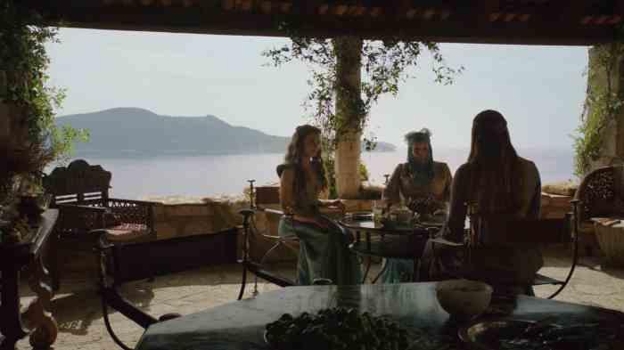 Copie d'écran tirée de la série « Game of Thrones » saison 3, épisode 2 / HBO