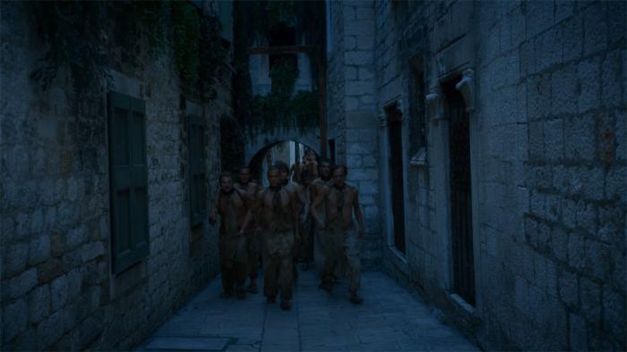 Copie d'écran tirée de la série « Game of Thrones » saison 4, épisode 4 / HBO