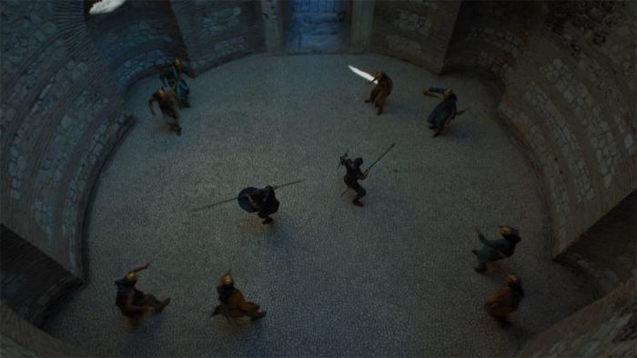 Copie d'écran tirée de la série « Game of Thrones » saison 5, épisode 4 / HBO