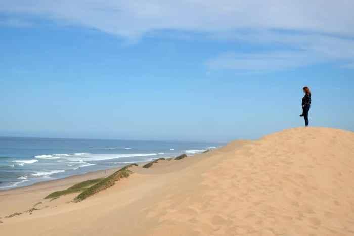 Dune beach Mirleft Maroc ©Etpourtantelletourne.fr
