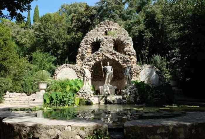 Fontaine de l'arboretum de Trestno près de Dubrovnik©Etpourtantelletourne.fr