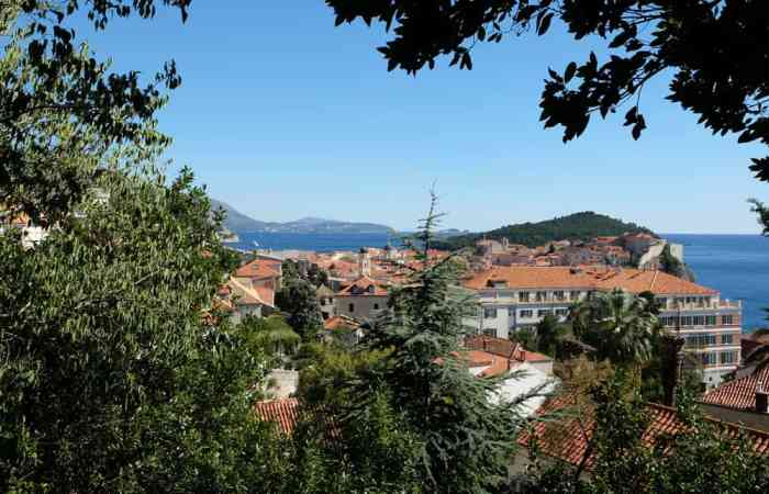Vue sur Dubrovnik ©Etpourtantelletourne.fr