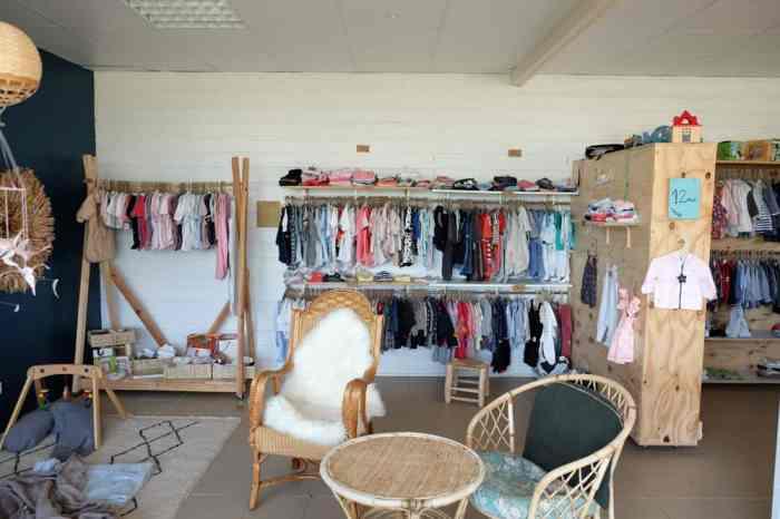 """Boutique """"C'est l'Histoire de"""" à Domloup - boutique vêtements enfants et salon de thé kids friendly ©Etpourtantelletourne.fr"""