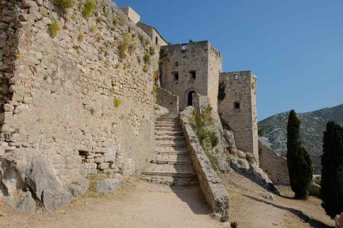 Visite de la Forteresse médiévale de Kliss à proximité de Split ©Etpourtantelletourne.fr