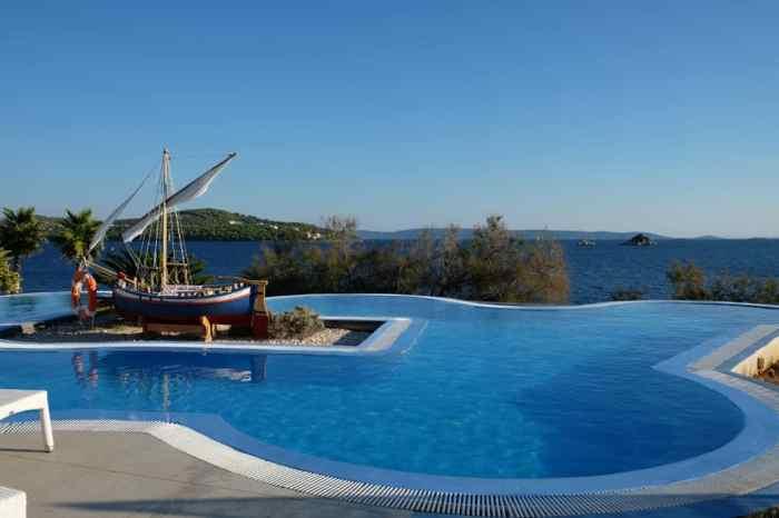Camping avec piscine près de Split en Croatie ©Etpourtantelletourne.fr