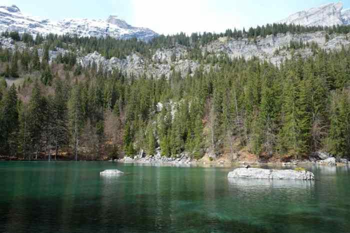 Randonnée autour du Lac Vert à Passy en Haute-Savoie ©Etpourtantelletourne.fr