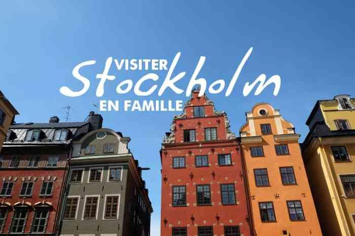 Visiter Stockholm en famille // ©etpourtantelletourne.fr