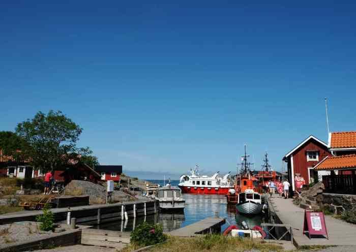 Le port de Landsort Suède // ©etpourtantelletourne.fr