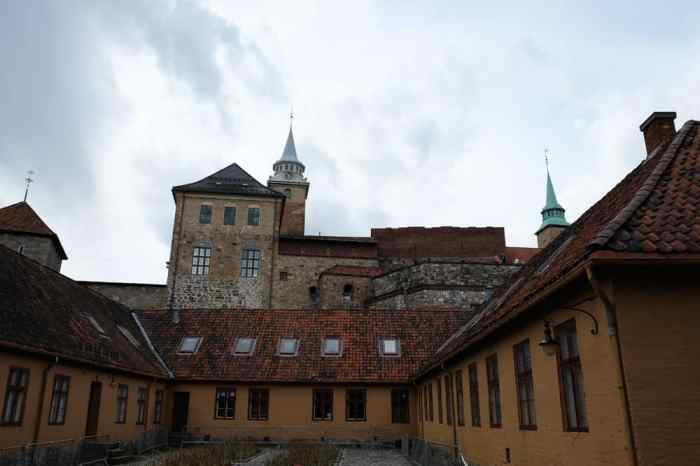 Visite du château d'Akershus à Oslo ©Etpourtantelletourne.fr