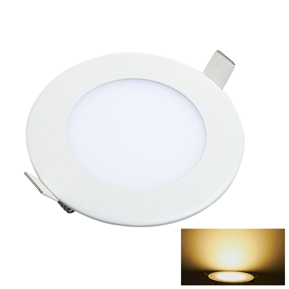 Round/Square Recessed Ceiling Lamp LED Panel Down Lights