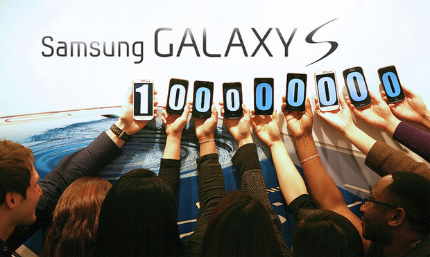 100 million galaxy s series phones sold