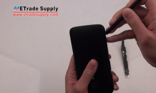 remove the Moto G battery door